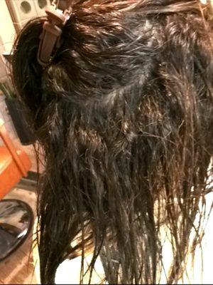 アルカリでトロトロな髪