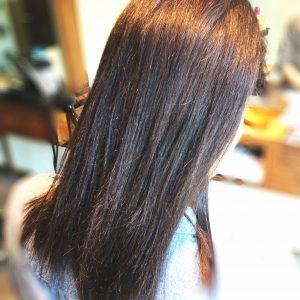 ビビリ毛になった髪