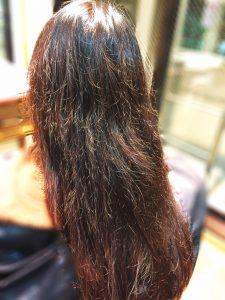 縮れ毛 髪の加齢