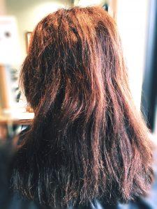 ビビリ毛 髪のダメージ 髪質改善