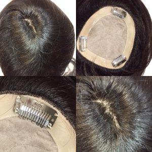 トップピース ずれない 自然 薄毛カバー