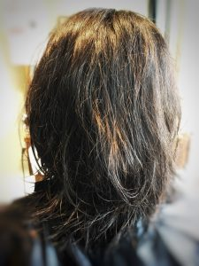 三田 縮毛矯正 うねり毛