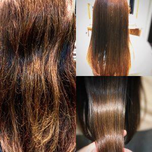 髪の痛み修復トリートメントシャンプー 神戸