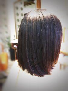 三田 髪が多い カット クセ毛 トリートメント