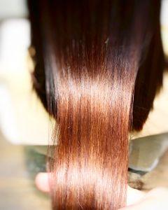 縮毛矯正 天使の輪 ツヤ サラサラ 40代 50代