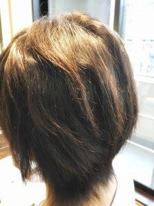 メンズ縮毛矯正 明石 ストレート