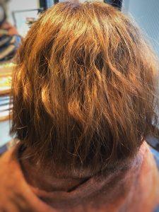 切りっぱなしボブ 剛毛 クセ毛 多量