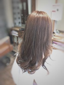 赤穂 美容室 縮毛矯正 インナーカラー