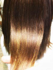 クセ毛 髪のツヤ感 サラサラ 髪質改善