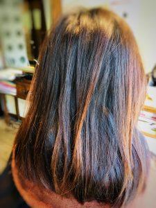 エイジング毛 髪のうねり