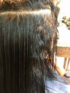 酸性 縮毛矯正 ノンアルカリ