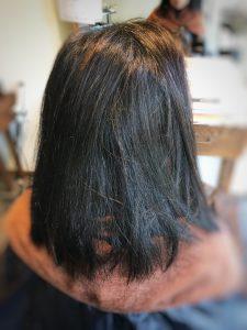 入浴介助 髪型