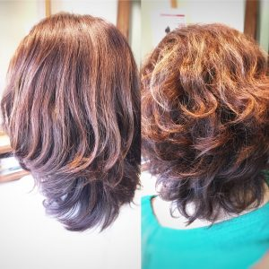 クセ毛 髪型 髪質改善トリートメント