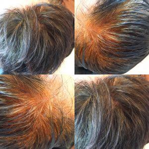 ヘナ染め 白髪 インディゴ 天然カラー