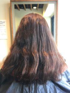 髪質改善 クセ毛 美髪