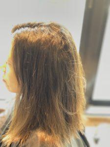 縮毛矯正 カラー 同時