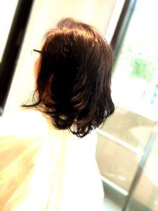 コテパーマ 巻き髪パーマ