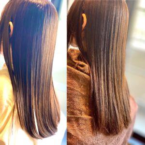 酸熱 髪質改善 効果