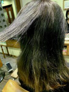 ブリーチ 切れ毛